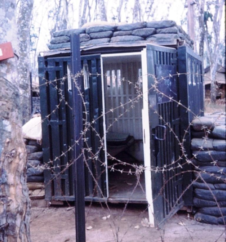 4RAR Battalion 'lockup'.