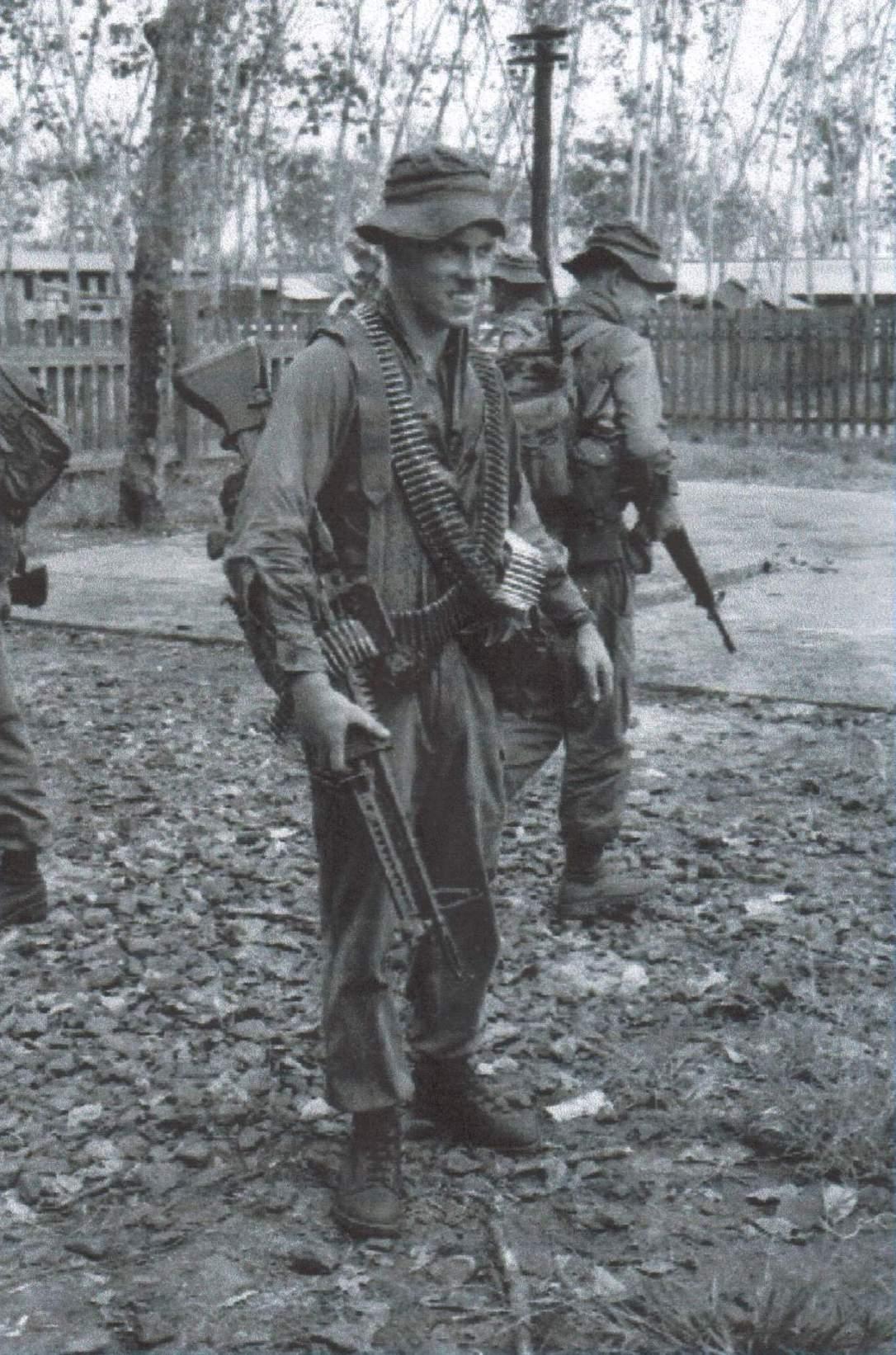 7-Gunner Jim Cawston.