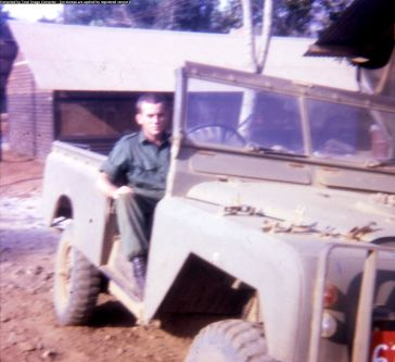 Bill in Coy Landrover